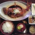 煮魚定食(金目鯛)