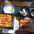 ウナギの蒲焼定食(上)