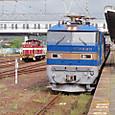 EF510 常磐線泉駅にて